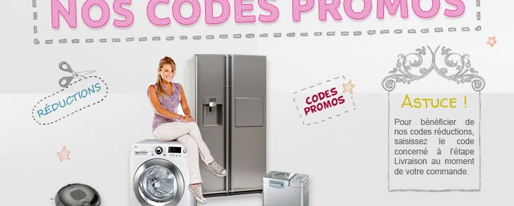 Pour votre réfrigérateur-congélateur, existe-t-il un code promo Réfrigérateur congélateur ?