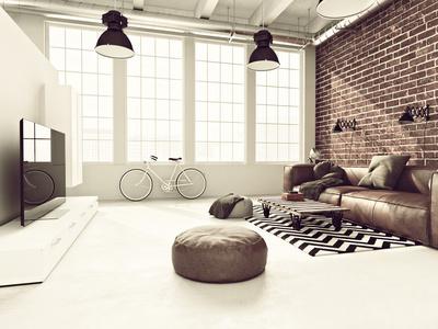 La décoration industrielle aussi exige soin des détails et de l'ensemble